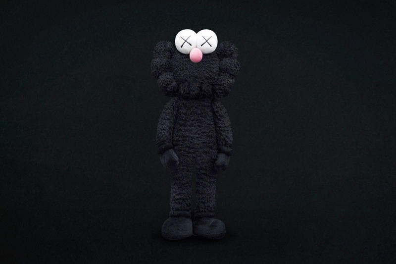 KAWS Black BFF statue fort worth texas the modern collectible toy