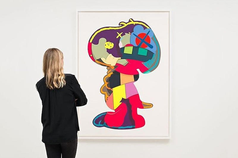 KAWS ISOLATION TOWER Pace Prints