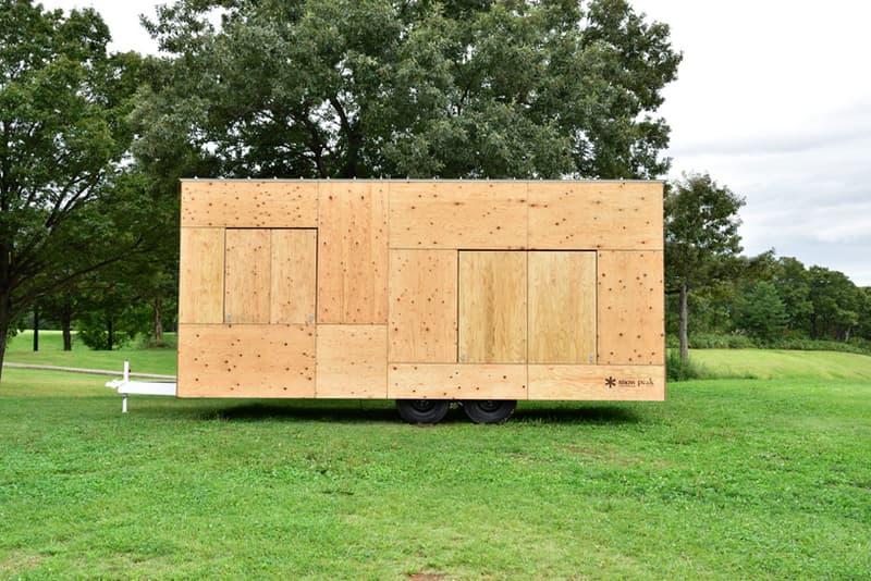 kengo kuma x snow peak trailer