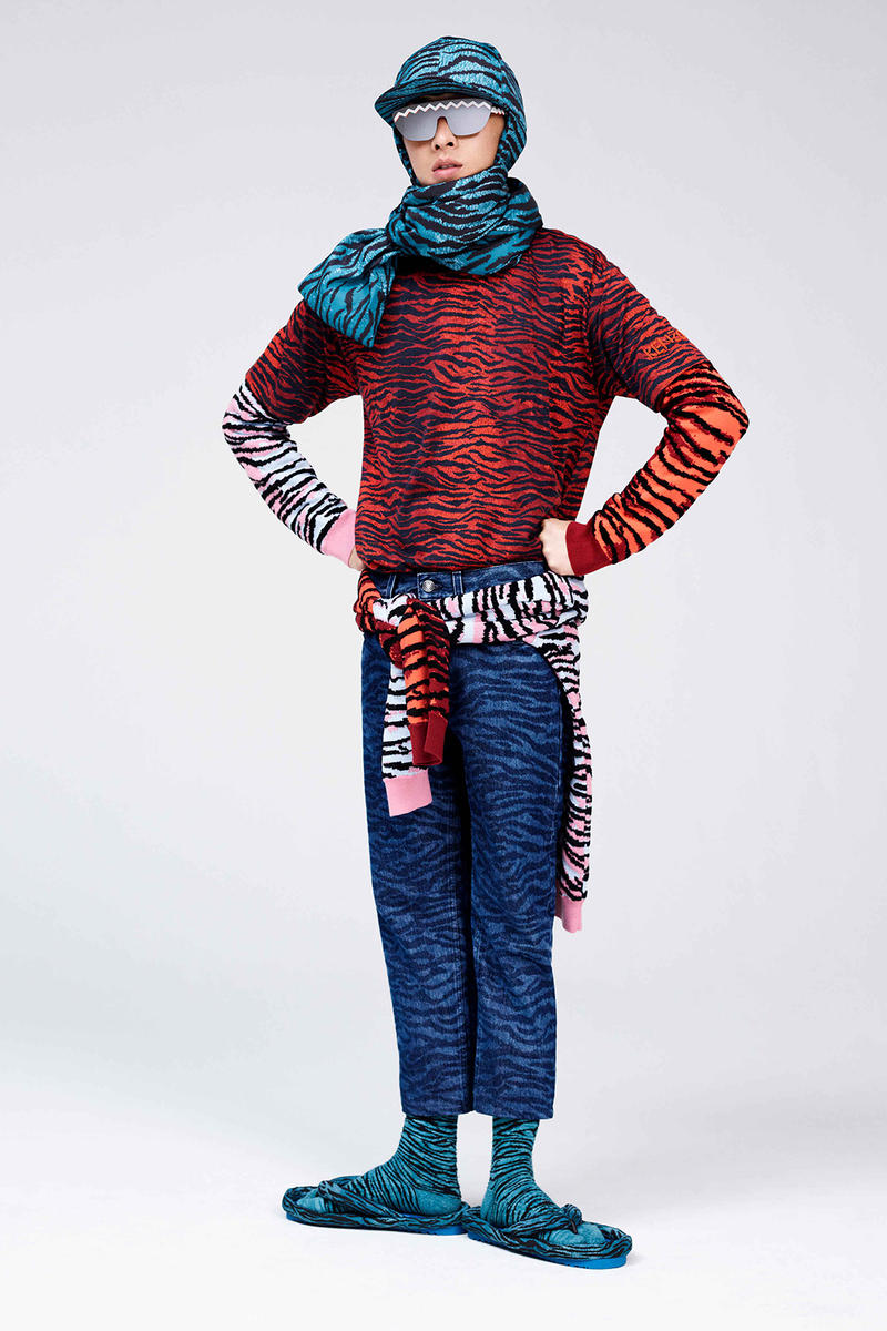 KENZO H&M COLLABORATION LOOKBOOK MENSWEAR