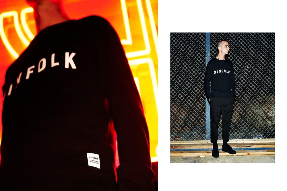 Kinfolk Converse Essentials Logo Sweatshirt