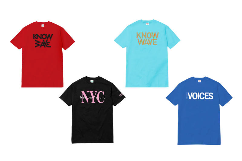 Know Wave Dover Street Market Fall 2016 T-Shirts