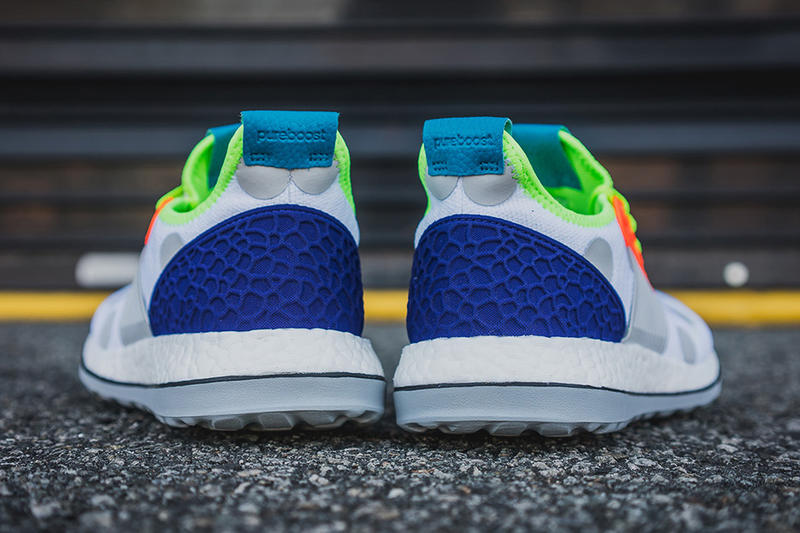 kolor adidas Ultra Boost and Pure Boost ZG sneakers streetwear running shoes