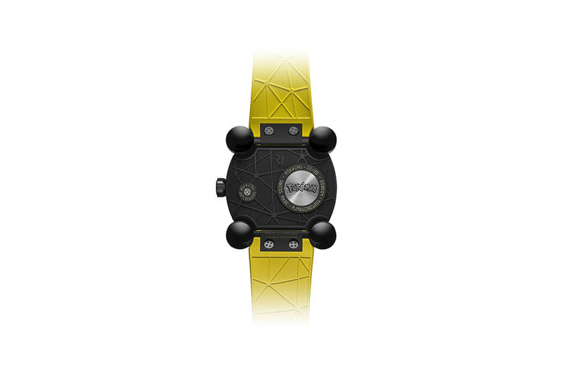 Pokémon RJ-Romain Jerome Watch 20,000 USD yellow