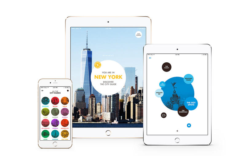 Louis Vuitton City Guide iphone ipad
