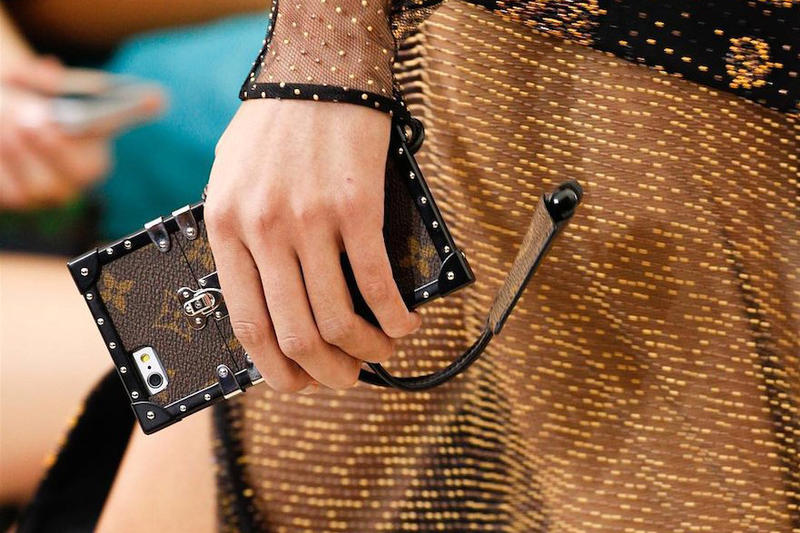 Louis Vuitton Petit Malle Trunk Bag-Inspired iPhone Case