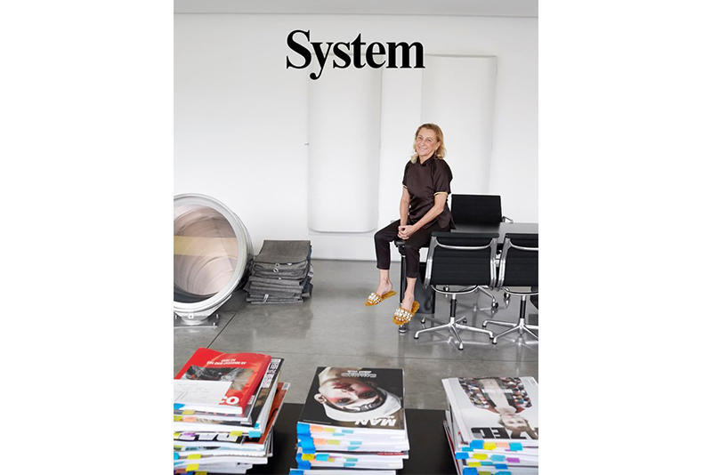 Miuccia Prada Raf Simons System Magazine Interview