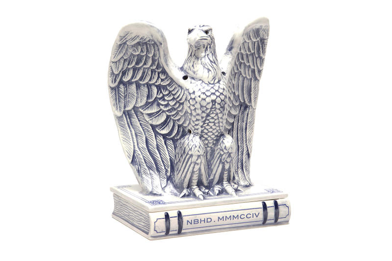 NEIGHBORHOOD Eagle Incense Chamber white black blue