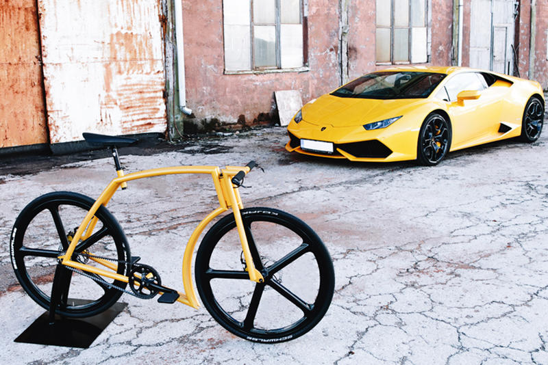 Velonia Lamborghini Inspired Viks Bicycle Hypebeast