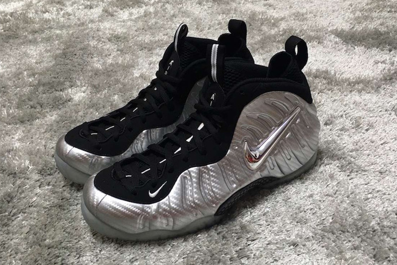 Nike Air Foamposite Pro Metallic Silver