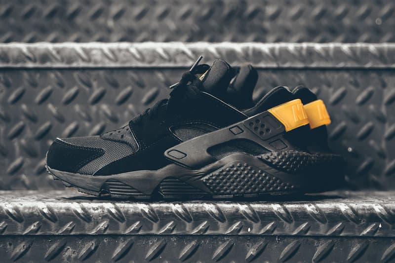 reputable site 0257b de2b2 Nike Air Huarache Black and Gold | HYPEBEAST
