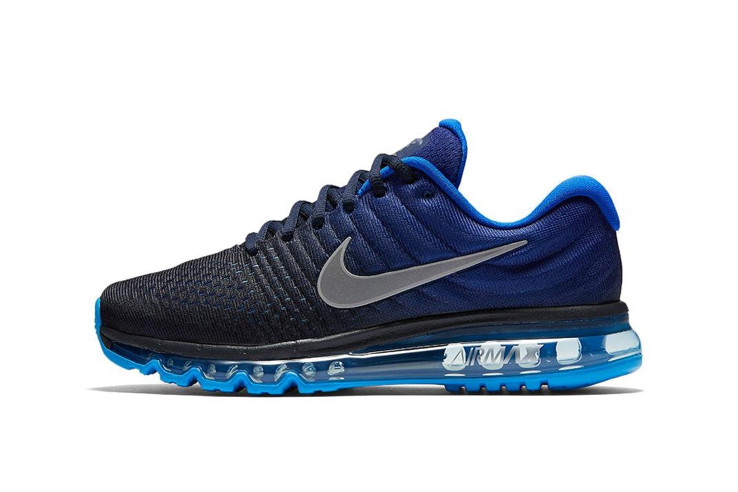 le dernier b29c1 ddb73 Nike Air Max 2017 Blue and Black | HYPEBEAST
