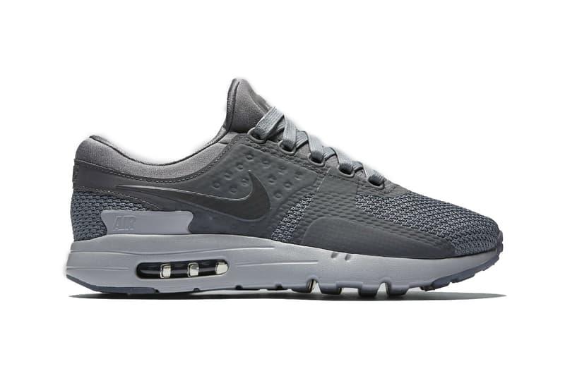 timeless design 8207c 96424 Nike Air Max Zero Cool Grey | HYPEBEAST