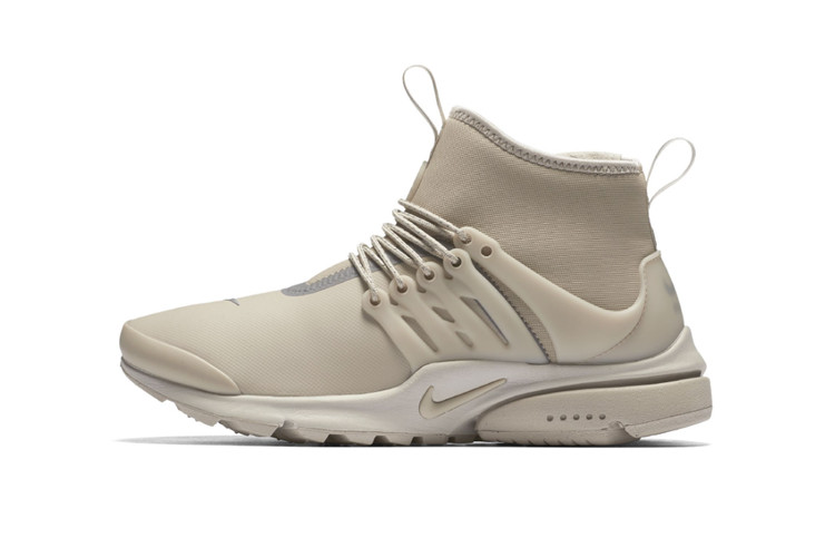 bf359059cdba Nike Is Dropping a Beige Colorway of the Air Presto Mid Utility