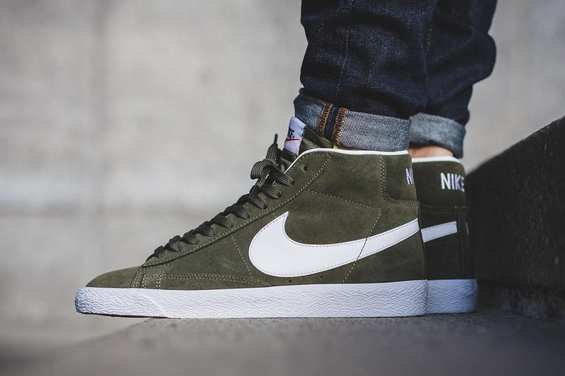 factory authentic 720fa 0ef89 Nike Blazer Mid Premium Green