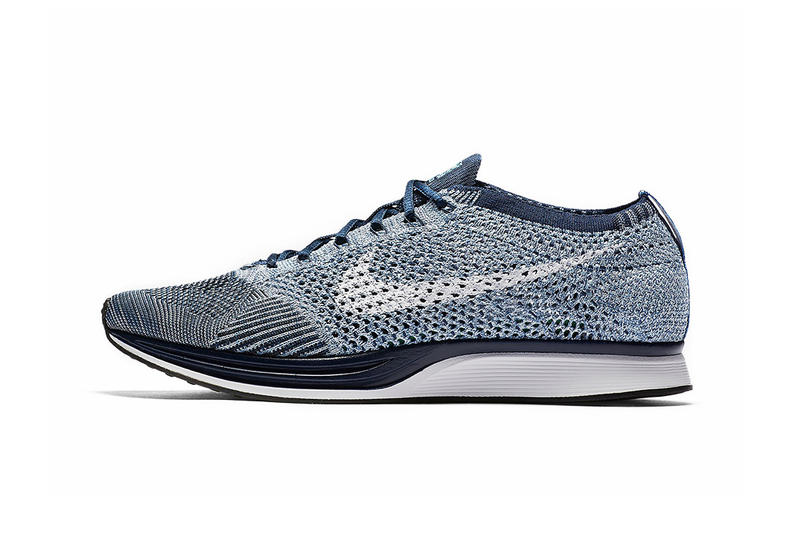 a5bf38a0684a2 Nike Flyknit Racer Blue Tint