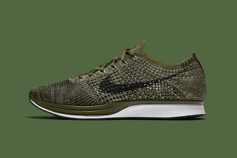 c8625f4068c9 Nike Flyknit Racer Rough Green