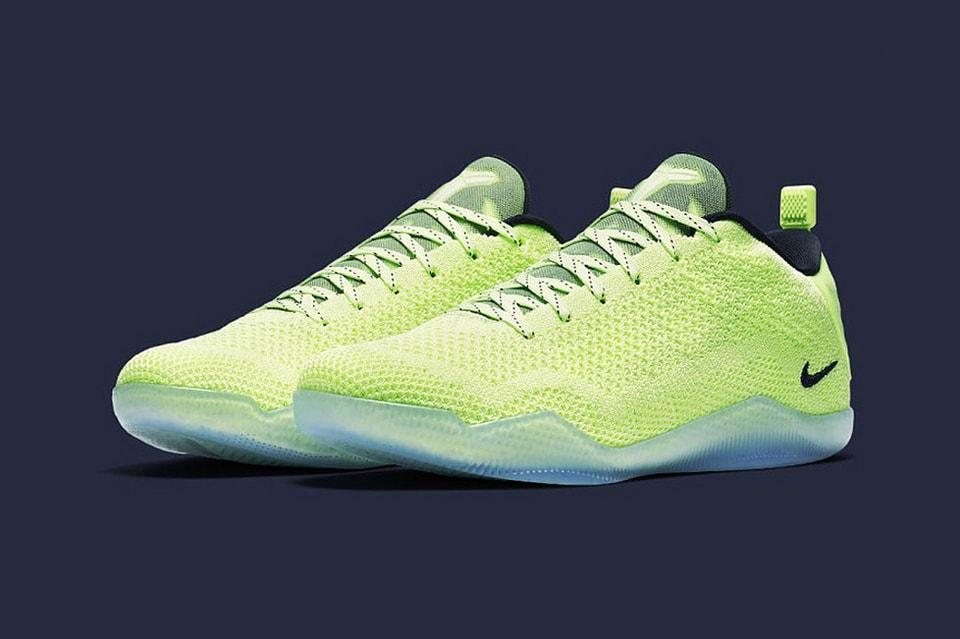 sports shoes 4d392 33e45 Nike Kobe 11 Elite 4KB Liquid Lime   HYPEBEAST