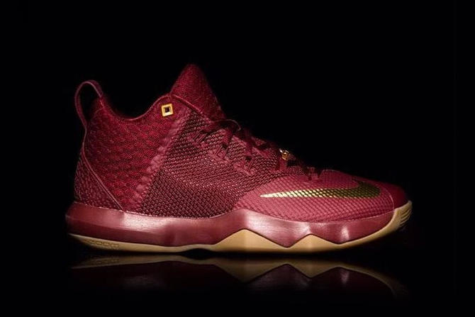 Nike LeBron Cavaliers Colorway Sneakers Basketball Sports Cleveland
