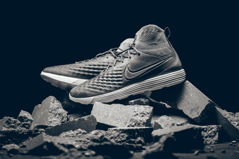 Nike Lunar Magista II Flyknit Dark Grey