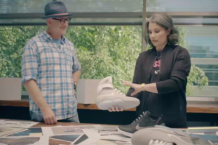 more photos 3d4ed 4f2f4 Tinker Hatfield on How They Added Adaptive Lacing to the Nike MAG