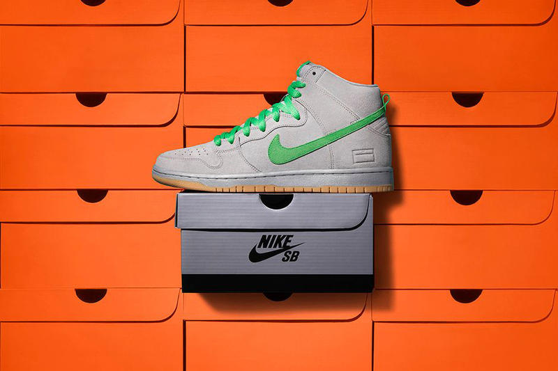 Nike SB Dunk High Premium Gray Box