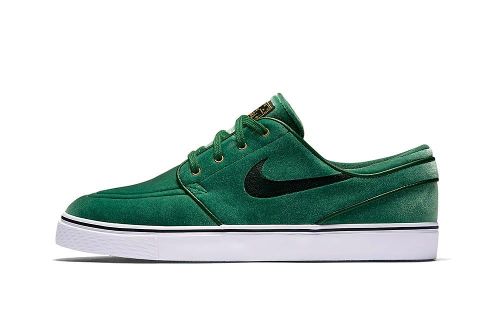 Nike SB Janoski Green Velvet for the