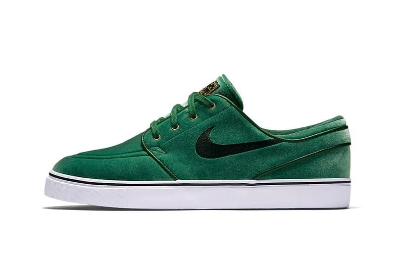los Edredón Impresión  Nike SB Janoski Green Velvet for the Holiday Season | HYPEBEAST