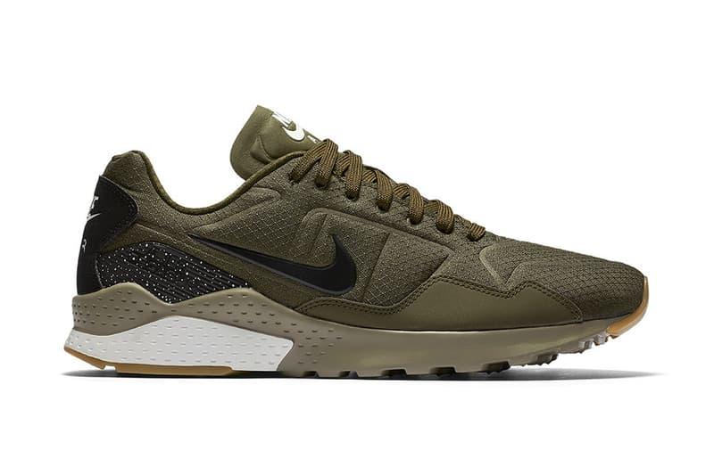 hot sale online 82ecf d60b7 Nike Zoom Pegasus  92 Ripstop Nylon Olive gum sole