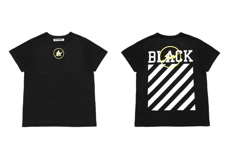 "OFF-WHITE & fragment design ""FLUO"" Collection"