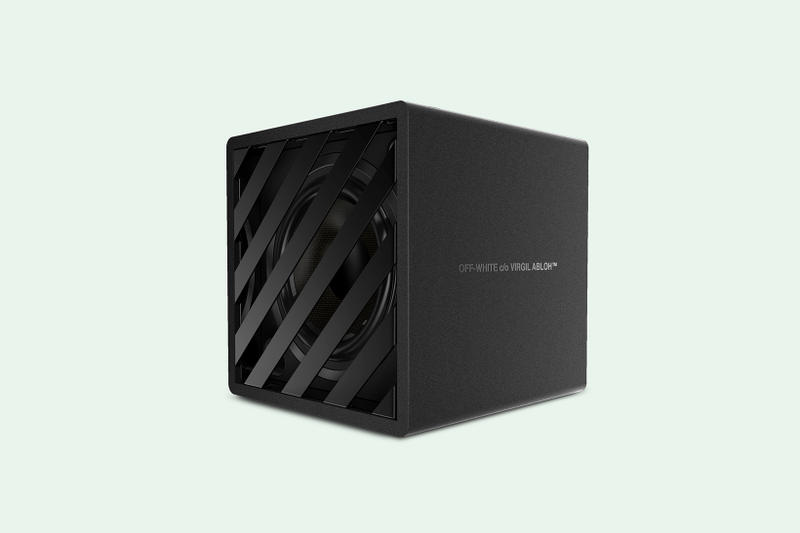 OFF WHITE SPEAKER CONCEPT PRODUCT DESIGN