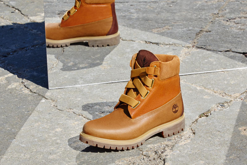 f98dc8ab729b Opening Ceremony x Timberland Convenience Collection 2016 Fall 6 Inch Wheat  Black Burgundy Green Leather