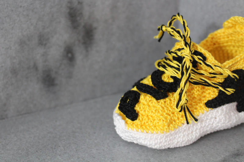 Picasso Babe Crochet Human Race NMDs 2016 Pharrell Williams Hu Yellow Hypebeast kids