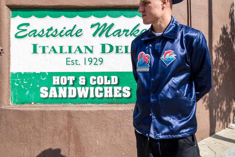 Pink Dolphin x Ebbets Field 8th Anniversary Capsule 2016 Fall Winter Coach Jackets baseball caps