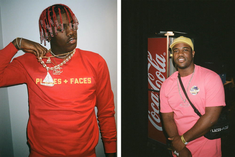Places+Faces Lil Yachty A$AP Ferg Lookbook