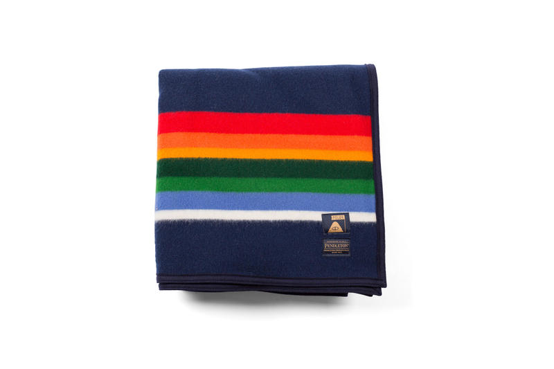 Poler x Pendleton 2016 Fall/Winter Collection camping essentials orange green red blue