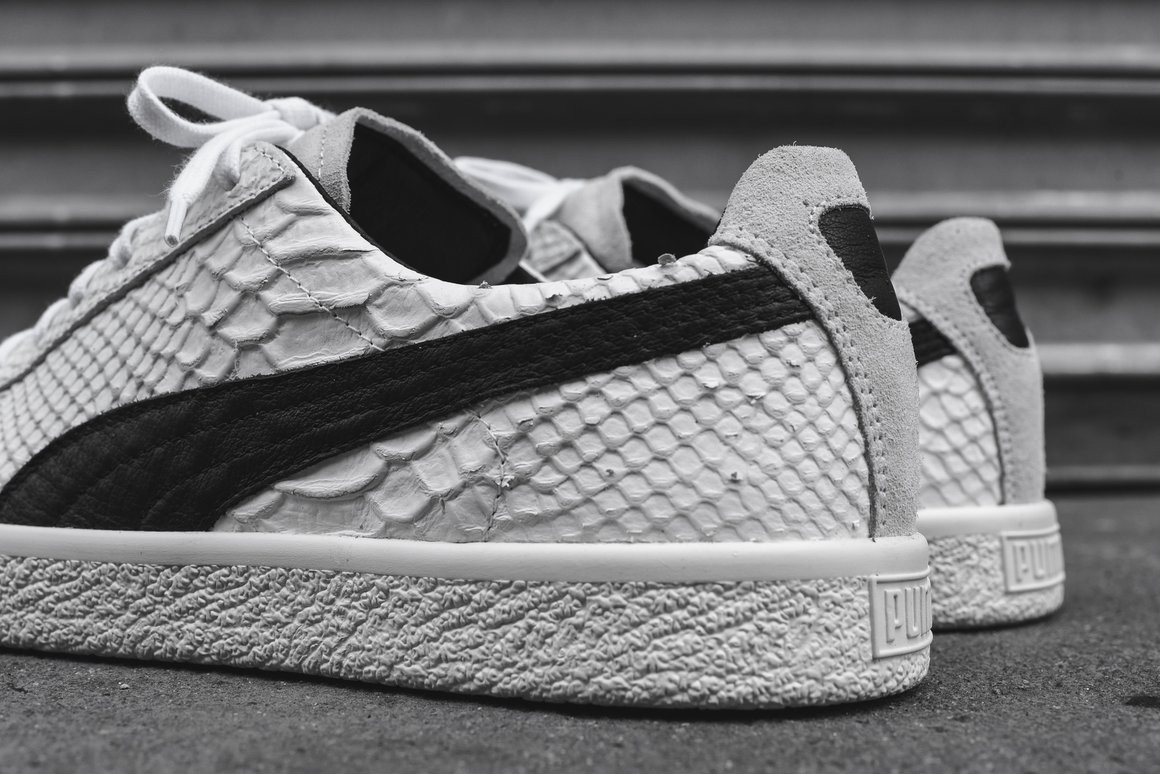 Puma Clyde Snakeskin Is Made in Italy