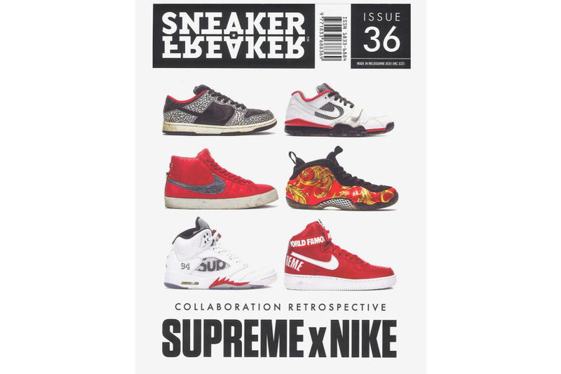 Sneaker Freaker 36 Issue supreme nike collaborations cover