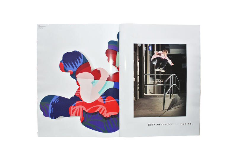 KAWS x SNEEZE Magazine 29 Get Met It Pays Issue