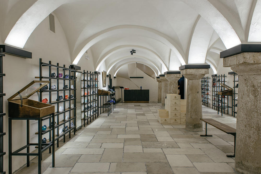 Solebox Vienna store launch images