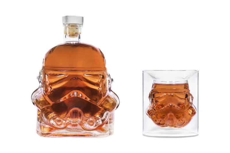 'Star Wars' Stormtrooper Decanter and Shot Glass