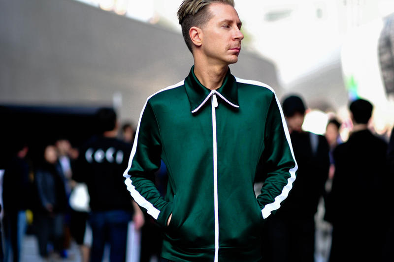 Streetsnaps: Seoul Fashion Week Supreme Vetements Raf Simons