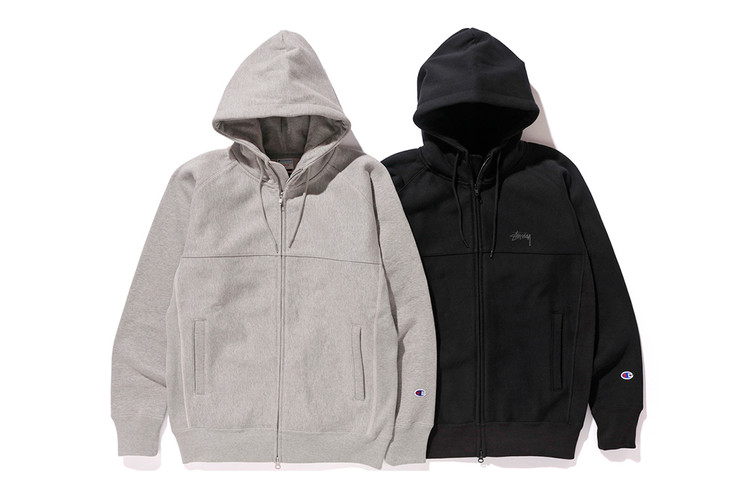 ccb35f0f9ae6 This Stüssy x Champion Hoodie Is the Perfect Fall Staple