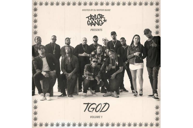 "Wiz Khalifa's Taylor Gang New Mixtape ""TGOD Vol. 1"""