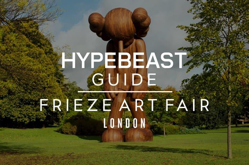 Frieze London 2016 art fair guide