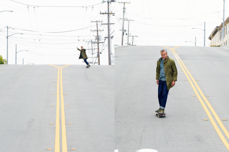 The Hill Side x Unionmade San Francisco Lookbook Skateboarding jackets plaid 2016 slopped pavement