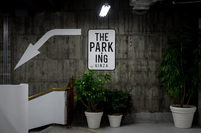 THE PARK・ING GINZA Dawn of Culture Garage 3 Midnight Market concrete