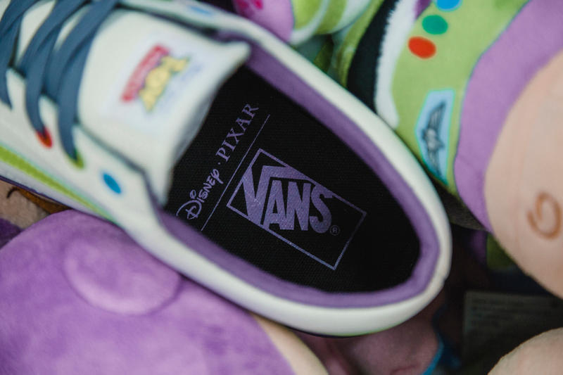 819ae5c46f Toy Story Vans Sneakers Woody Buzz Lightyear Disney