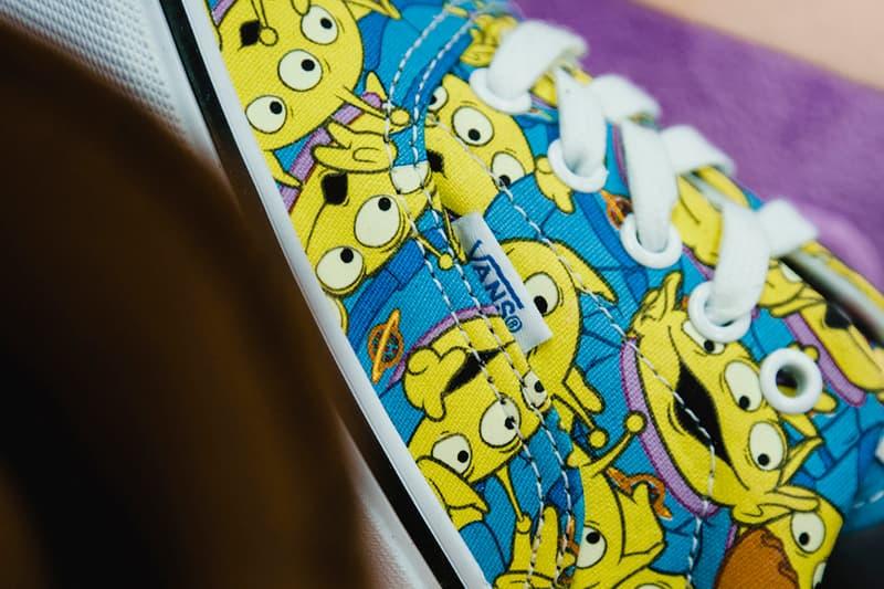 Toy Story Vans Sneakers Woody Buzz Lightyear Disney