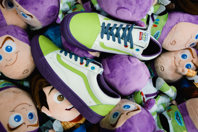 Toy Story Vans Sneakers Woody Buzz Lightyear Disney